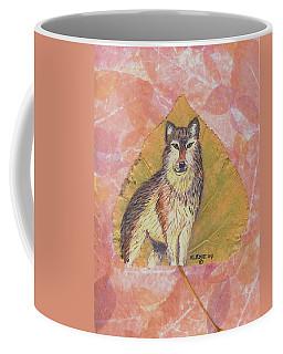 Alpha Male On Natural Leaf Coffee Mug