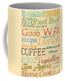Alphabet Soup-a Coffee Mug