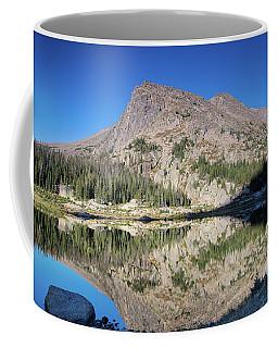 Alpine Lake Sunrise Coffee Mug
