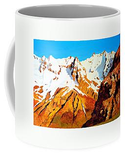 Alpine Landscape Coffee Mug by Henryk Gorecki