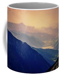 Twilight In The Alpine Region Austria Coffee Mug