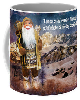 Alpine Santa Card 2015 Coffee Mug