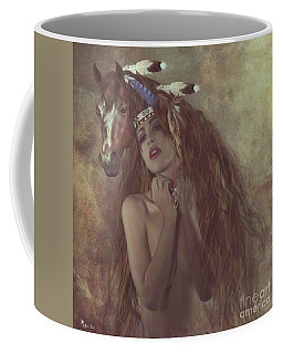 Alsoomse And Her War Horse Coffee Mug