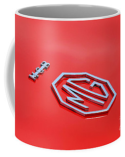 Coffee Mug featuring the photograph Aluminum Font by Stephen Mitchell