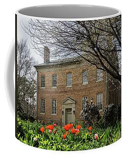 Alumni House In Spring Coffee Mug