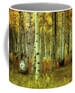 Coffee Mug featuring the photograph Alvarado Autumn 1 by Marie Leslie