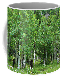Coffee Mug featuring the photograph Alvarado Summer by Marie Leslie