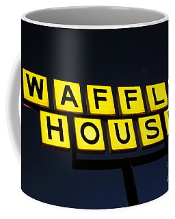 Always Open Waffle House Classic Signage Art  Coffee Mug