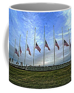 Always Remember Coffee Mug by Luther Fine Art