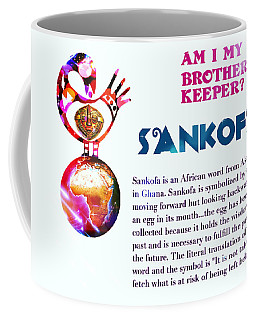 Am I My Brother's Keeper? Dense Coffee Mug by Jacqueline Lloyd