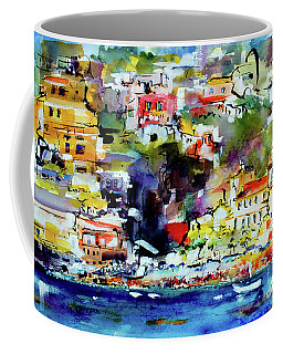 Amalfi Coast Positano Summer Vibrations Coffee Mug