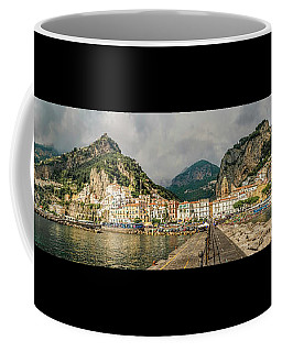 Coffee Mug featuring the photograph Amalfi by Steven Sparks