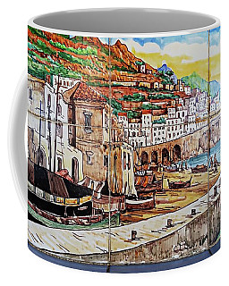 Amalfi Street Art Coffee Mug