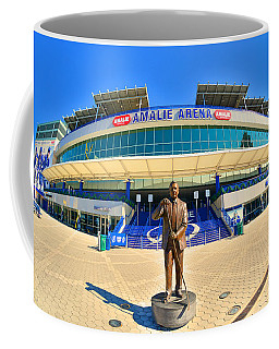 Coffee Mug featuring the photograph Amalie Arena by Lisa Wooten