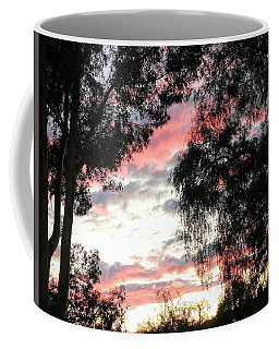 Amazing Clouds Black Trees Coffee Mug