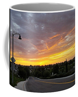 Colorful Sunset In Mission Viejo Coffee Mug