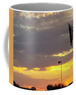 Patriotic Sunset Coffee Mug