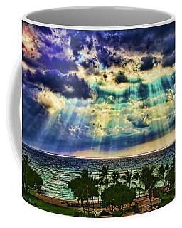 Amazing Grace - Sun Rays Before Sunset By Diana Sainz Coffee Mug