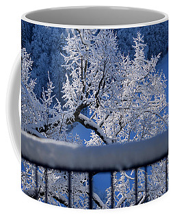 Coffee Mug featuring the photograph Amazing - Winterwonderland In Switzerland by Susanne Van Hulst