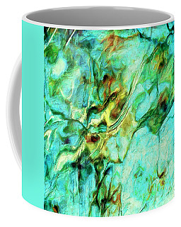 Coffee Mug featuring the painting Amazon by Dominic Piperata