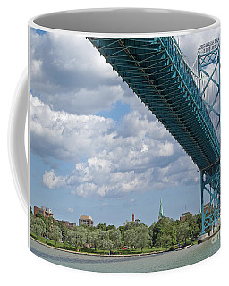 Ambassador Bridge - Windsor Approach Coffee Mug