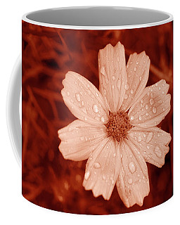 Amber Daisy Droplets Coffee Mug
