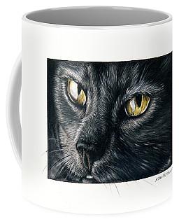 Amber Eyes Coffee Mug