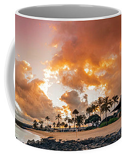 Amber Palms Coffee Mug