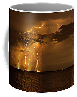 Amber Rain Coffee Mug by Quinn Sedam