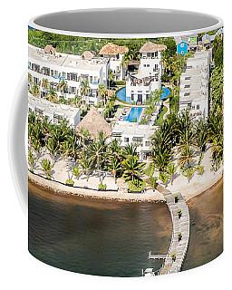 Ambergris Caye Aerial View Coffee Mug