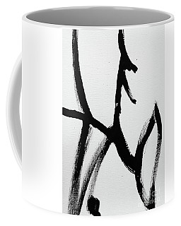 Coffee Mug featuring the painting Ambit by Robin Maria Pedrero