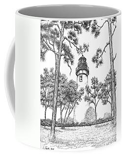 Amelia Island Lighthouse Coffee Mug by Lawrence Tripoli