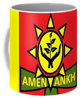 Amen Ankh Sunset Coffee Mug