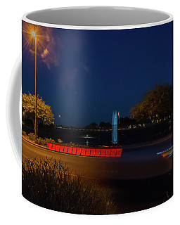 America At Night Coffee Mug