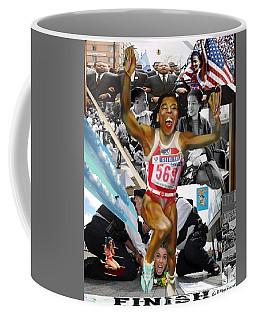 America On Her Back Coffee Mug