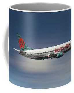 America West Boeing 737-300 Coffee Mug