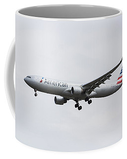 American Airlines Airbus A330 Coffee Mug