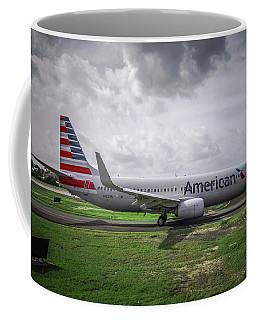 American - Boeing 737 Coffee Mug