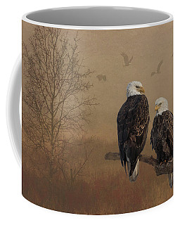 American Bald Eagle Family Coffee Mug