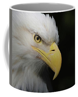 American Bald Eagle Portrait 4 Coffee Mug by Ernie Echols