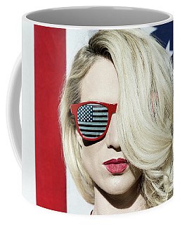Coffee Mug featuring the photograph American Beauty No8767 by Amyn Nasser