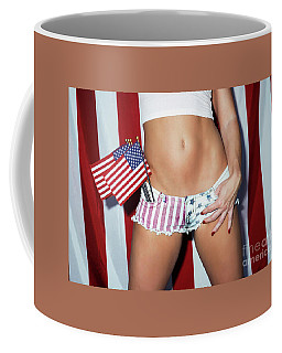 Coffee Mug featuring the photograph American Beauty No9220 by Amyn Nasser