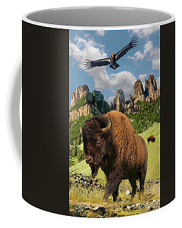 American Bison Coffee Mug