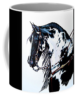American Black And White Paint  Coffee Mug
