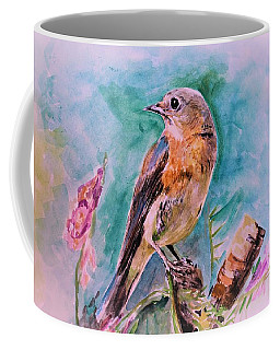 American Blue Bird Coffee Mug