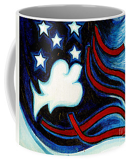 American Dove Coffee Mug by Genevieve Esson