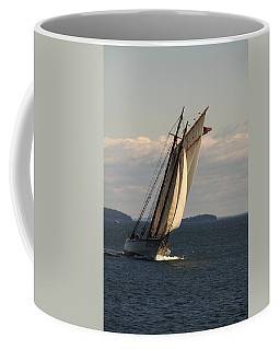 American Eagle In A Good Wind Coffee Mug
