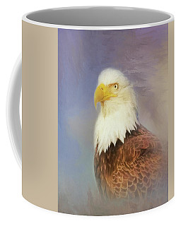 Coffee Mug featuring the painting American Eagle by Steven Richardson