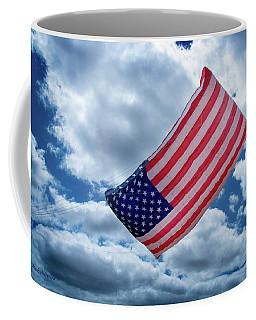 American Flag Kite Coffee Mug