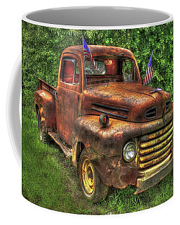 American Ford 1950 F-1 Ford Pickup Truck Art Coffee Mug